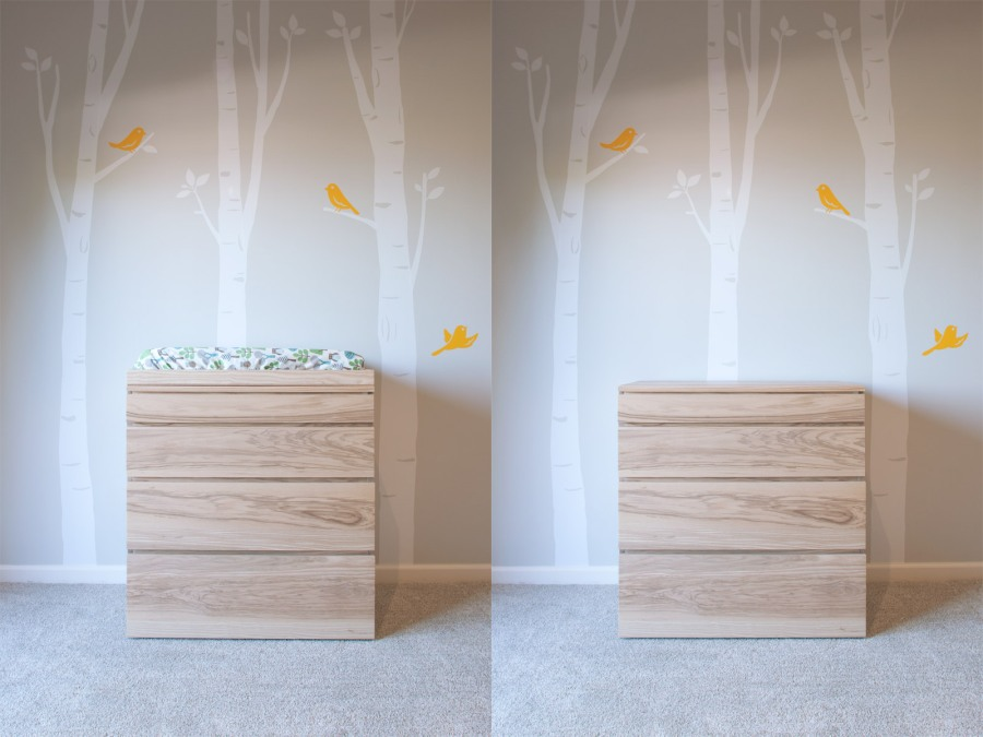 Dresser - Changing Table Duo