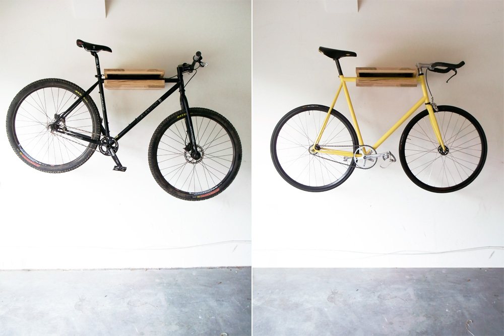 Bike Shelf - Ash, both wide
